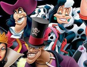 Personaje negative din franciza Disney, vedetele unei serii de timbre emise de Poșta americană